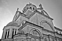 UNESCO world heritage site in Sibenik Stock Images