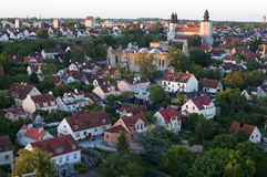 He Unesco World Heritage Site Visby on Gotland In Sweden, Aerial Royalty Free Stock Photography