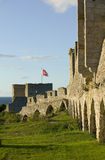 The unesco world heritage site visby in sweden.GN Royalty Free Stock Image