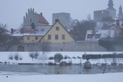 The UNESCO World Heritage Site Visby in Sweden Stock Image