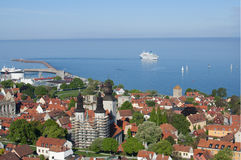 Unesco world heritage Visby in Sweden Royalty Free Stock Photos