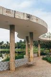 UNESCOvärldsarvPampulha modern helhet royaltyfri fotografi