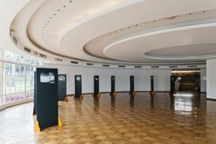 UNESCOvärldsarvPampulha modern helhet arkivbilder