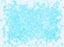Uneven antique blue frame background. Paper texture Stock Photos