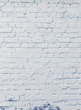 Uneven brick textured backdrop Royalty Free Stock Photos