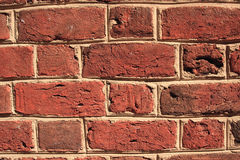 Uneven Brick Wall Stock Photo