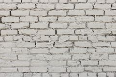 Uneven brick wall texture outside gray-1 stock image
