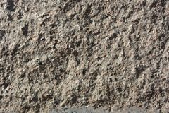 Uneven concrete surface as background Royalty Free Stock Photography