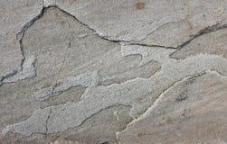 Uneven grey sandstone slab Royalty Free Stock Photo