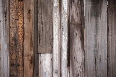 Uneven Irregular Wooden Boards Background Royalty Free Stock Image
