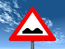 Uneven Road Royalty Free Stock Images