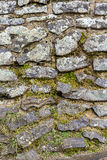 Uneven Stone Wall Texture Stock Photo