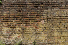 Uneven Wall Royalty Free Stock Photos
