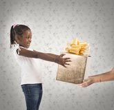 Unexpected  child present Royalty Free Stock Photos