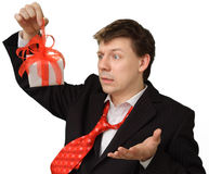 Unexpected present Royalty Free Stock Photography