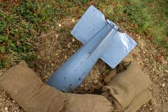 unexploded Στοκ Εικόνα