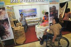 Unfähigkeits-Ausstellung in Indonesien Stockfoto