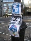 Unfähigkeits-Zugänglichkeit, Frauen ` s März, Central Park West, NYC, NY, USA Lizenzfreies Stockbild