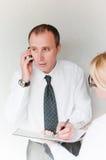 Unfair boss Stock Images