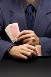 Unfairer Spieler stockbilder