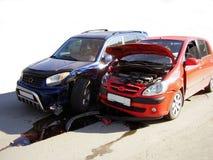 Unfall Stockfoto