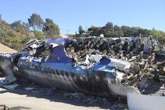 Unfall 747 Stockfoto
