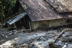 Unfall in Banten lizenzfreie stockbilder