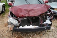 Unfall, der das Fahren ablenkt Stockbild