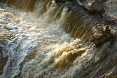 Unfall der flutartigen Überschwemmung Stockbilder