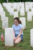 Unfall des Krieges Stockfotografie