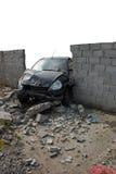 Unfall 2 - getrunkener Crashtest Lizenzfreie Stockfotografie