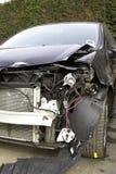 Unfall schädigendes Fahrzeug lizenzfreie stockbilder