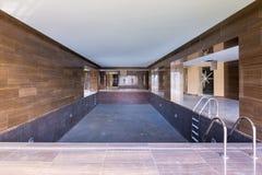 Unfertiger Swimmingpool Lizenzfreies Stockbild