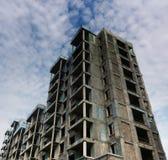 Unfertiges Gebäude Stockbild