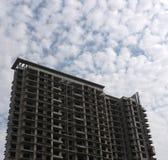 Unfertiges Gebäude Lizenzfreies Stockfoto