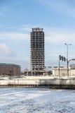 Unfertiges Gebäude Lizenzfreies Stockbild