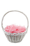 Unfilled Easter basket Stock Photos