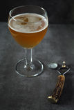 Unfiltered beer glasse Royalty Free Stock Images