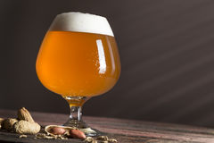 Unfiltered cold beer Stock Photography