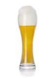 Unfiltered wheaten fresh beer stock photo