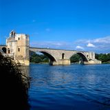 Bridge in Avignon, France Stock Photography