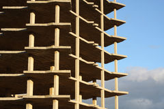Unfinished Building. An unfinished building in Spain Stock Photography