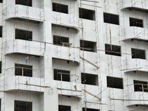 Unfinished building Stock Image