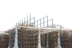 Unfinished building construction site Stock Photography