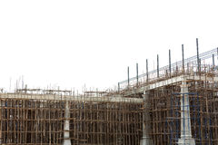Unfinished building construction site Royalty Free Stock Photography
