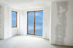 Unfinished building interior (includes clipping path) Royalty Free Stock Photos