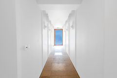 Unfinished building interior (includes clipping path) Royalty Free Stock Photography