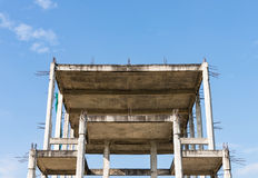 Unfinished building Stock Image