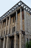Unfinished building of the Romanian Academy, Bucharest, Romania Stock Photo