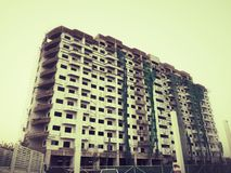 Unfinished building Royalty Free Stock Photography